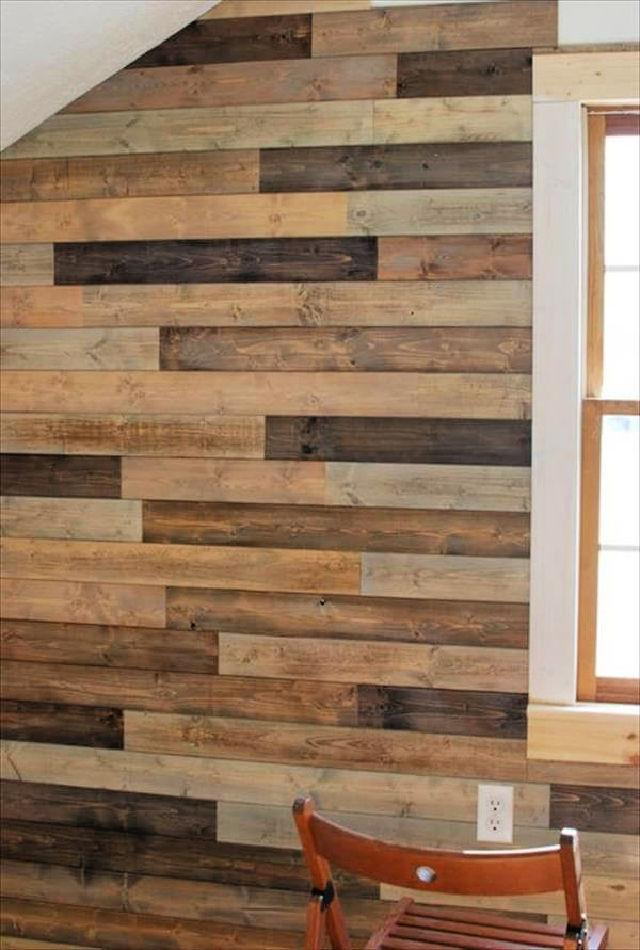 DIY Pallet Wall Instructions