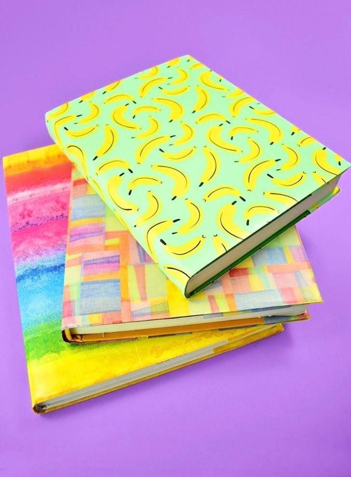 DIY Paper Book Cover