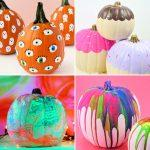 50 Easy Pumpkin Painting Ideas 2021 To Do This Halloween