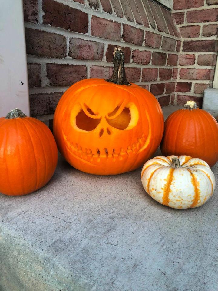 DIY Pumpkin jack o lantern