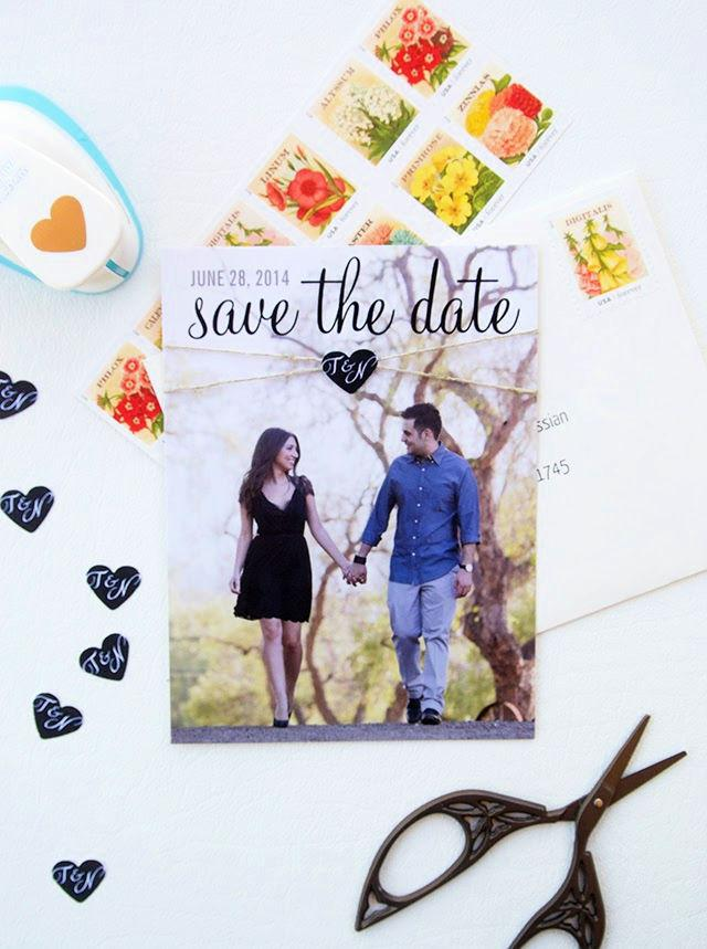 DIY Save the Date Card