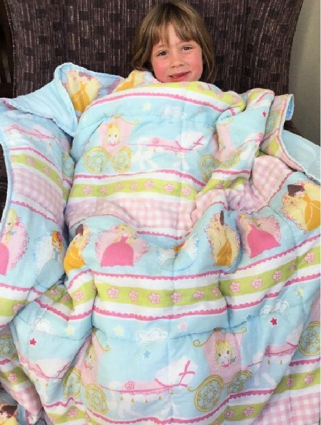 DIY Weighted Blanket for Sensory Seeker