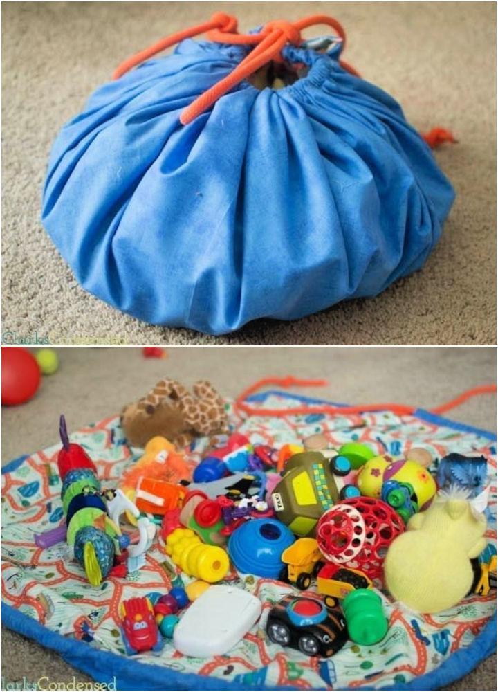 Drawstring Bag for Lego Storage
