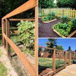 Durable DIY Garden Fence Ideas