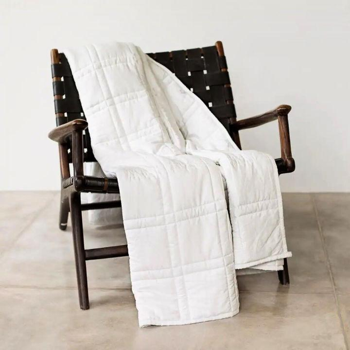 Easy DIY Weighted Blanket