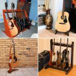 25 Free DIY Guitar Stand Plans To Make One Yourself