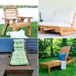 Free DIY Lounge Chair Plans