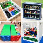25 Unique Lego Storage Ideas and Lego Organizer ideas