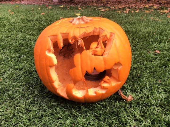 Halloween Harry Potter Pumpkin Carving
