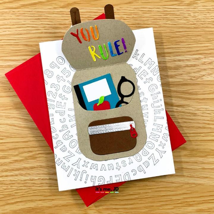 Handmade Cards For Teachers