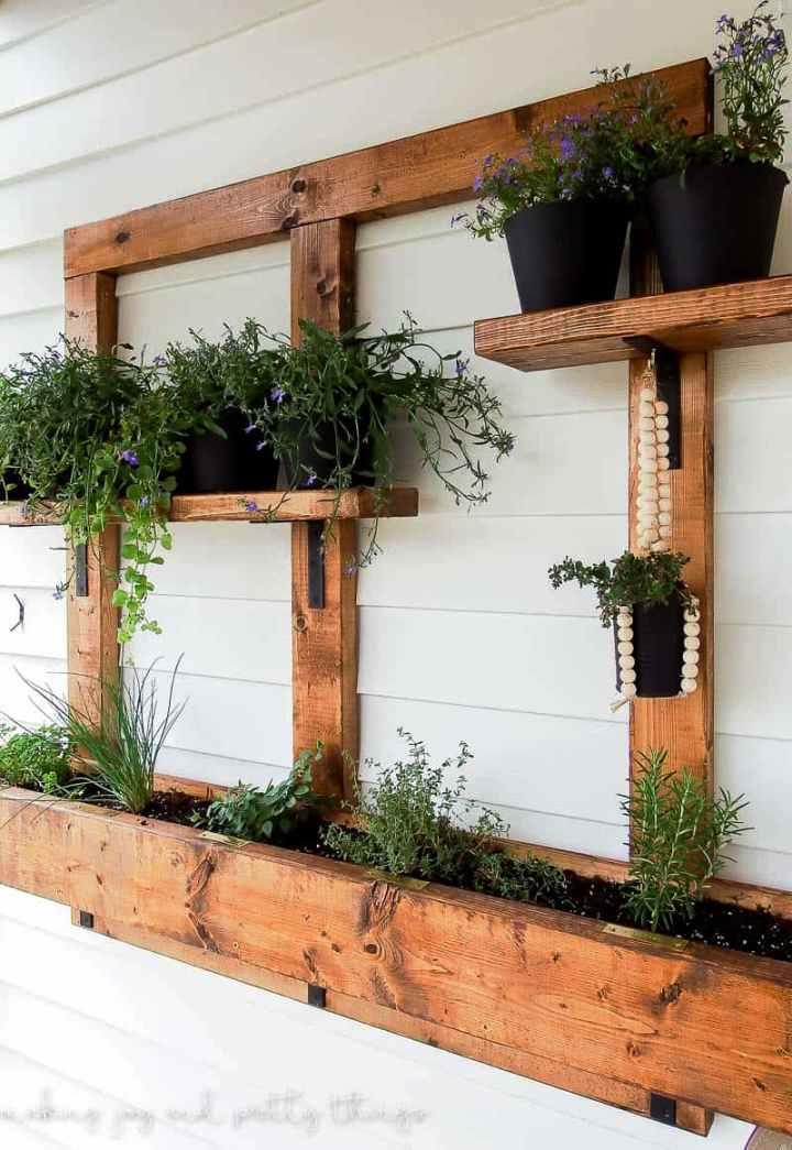 Herb Garden Using 24 Lumber
