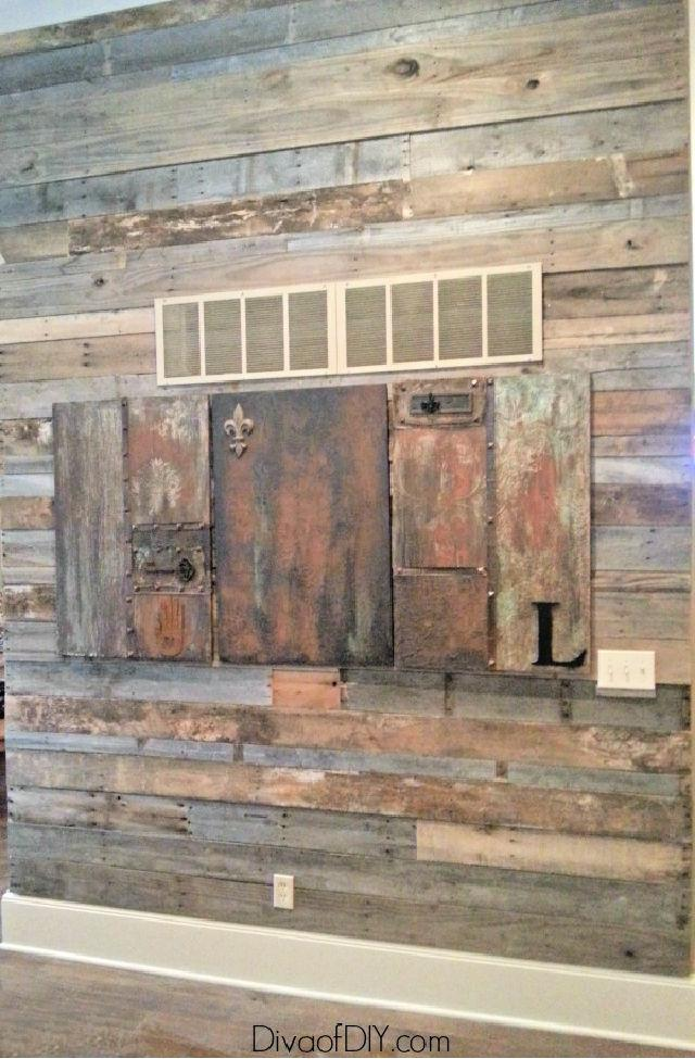 How To Create a Pallet Wall