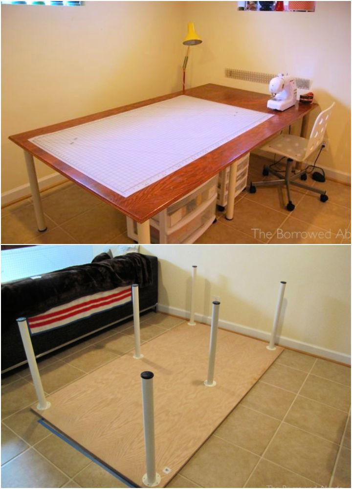 How to Build a Sewing Table
