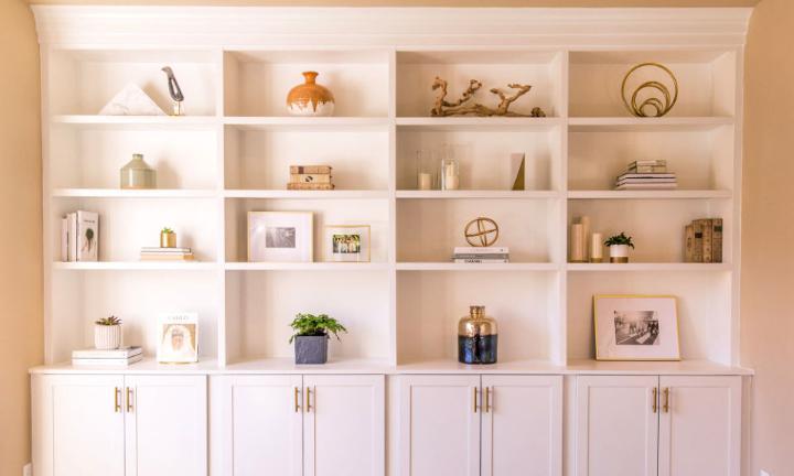 How to Make Built Ins Shelves