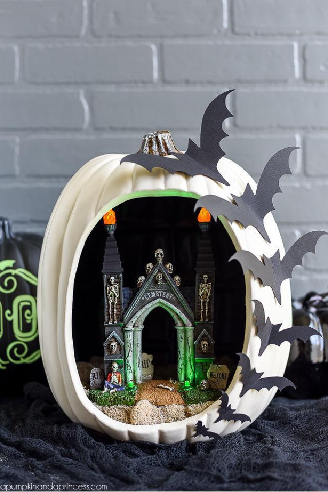 How to Make Pumpkin Diorama
