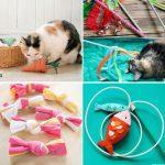 Inexpensive DIY Cat Toys