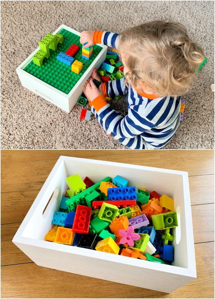 Lego Duplo Play Tray with Storage