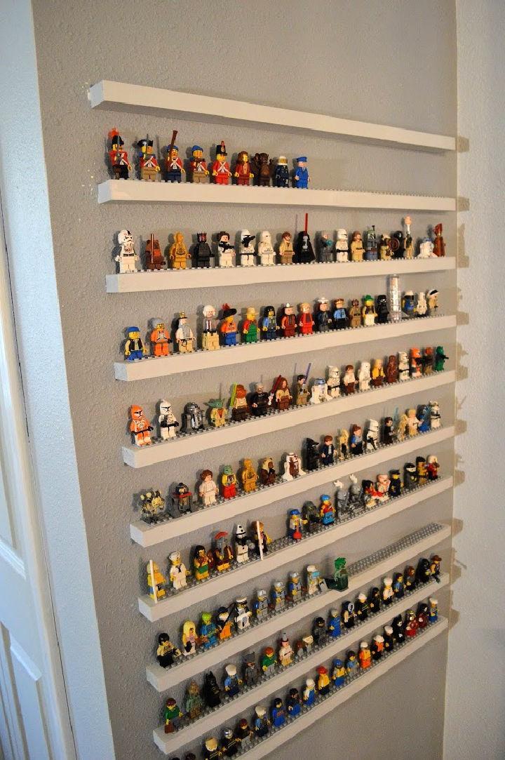 Lego Minifigure Storage Shelves