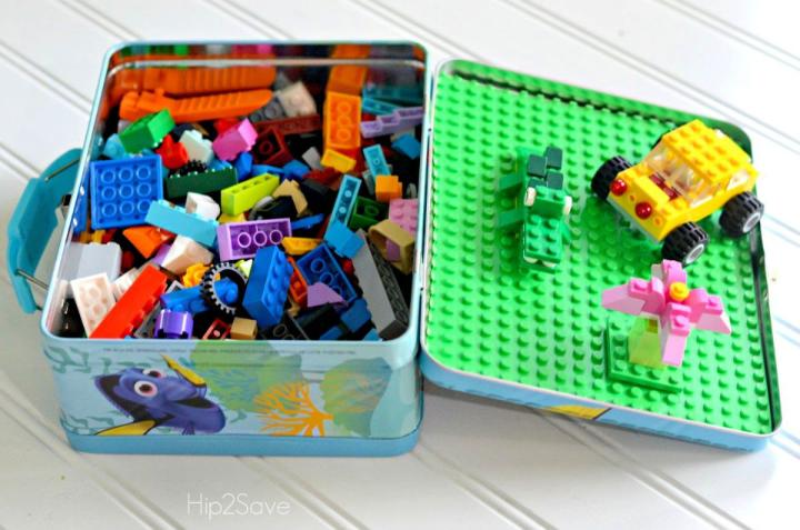 Lego Travel Case from Lunch Box