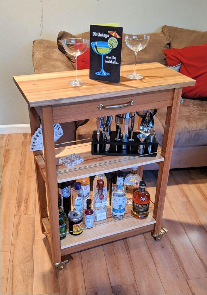 Make Your Own Bar Cart