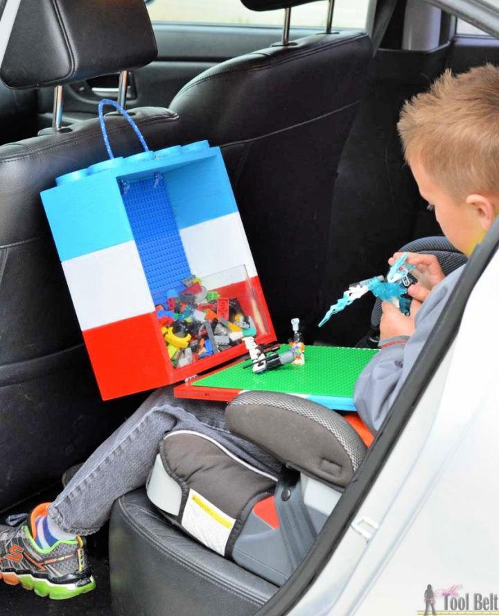 Make a Portable Lego Tote