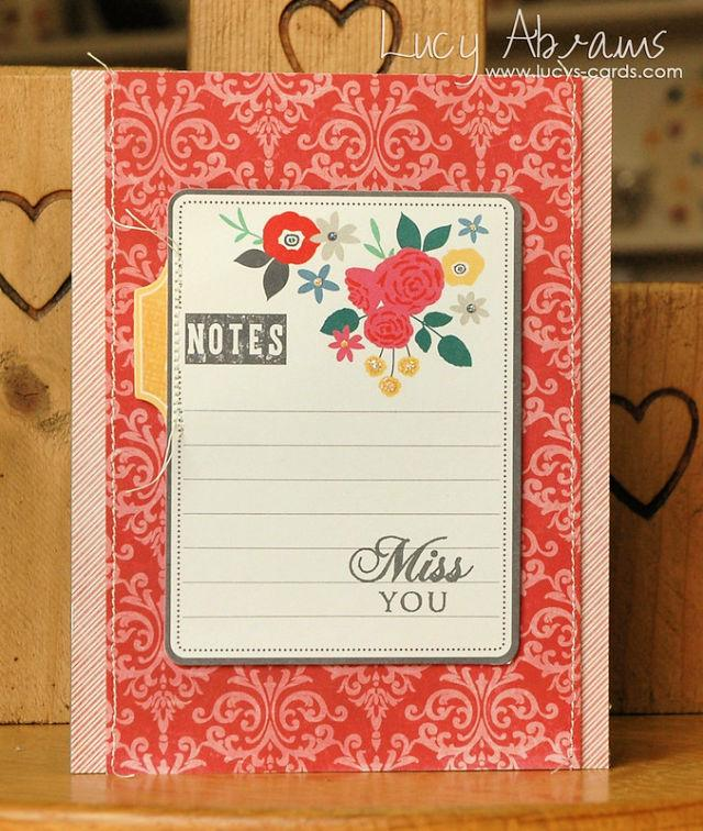Making A Miss You Card