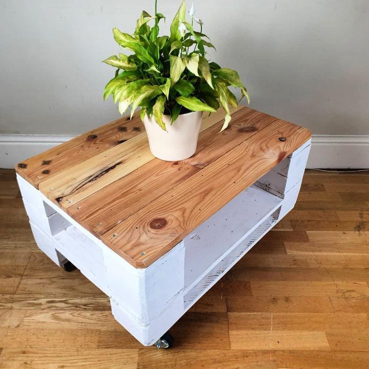 Modern Pallet Coffee Table