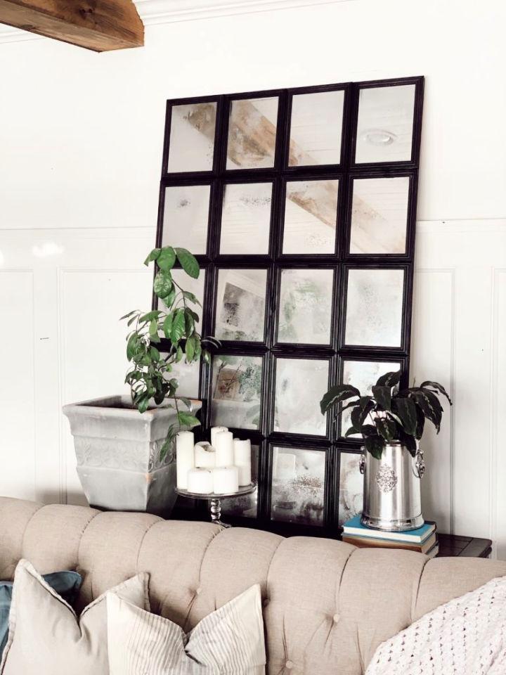 Multiple Panel Mirror