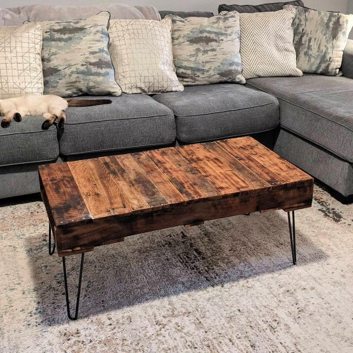 Old Pallet Coffee Table