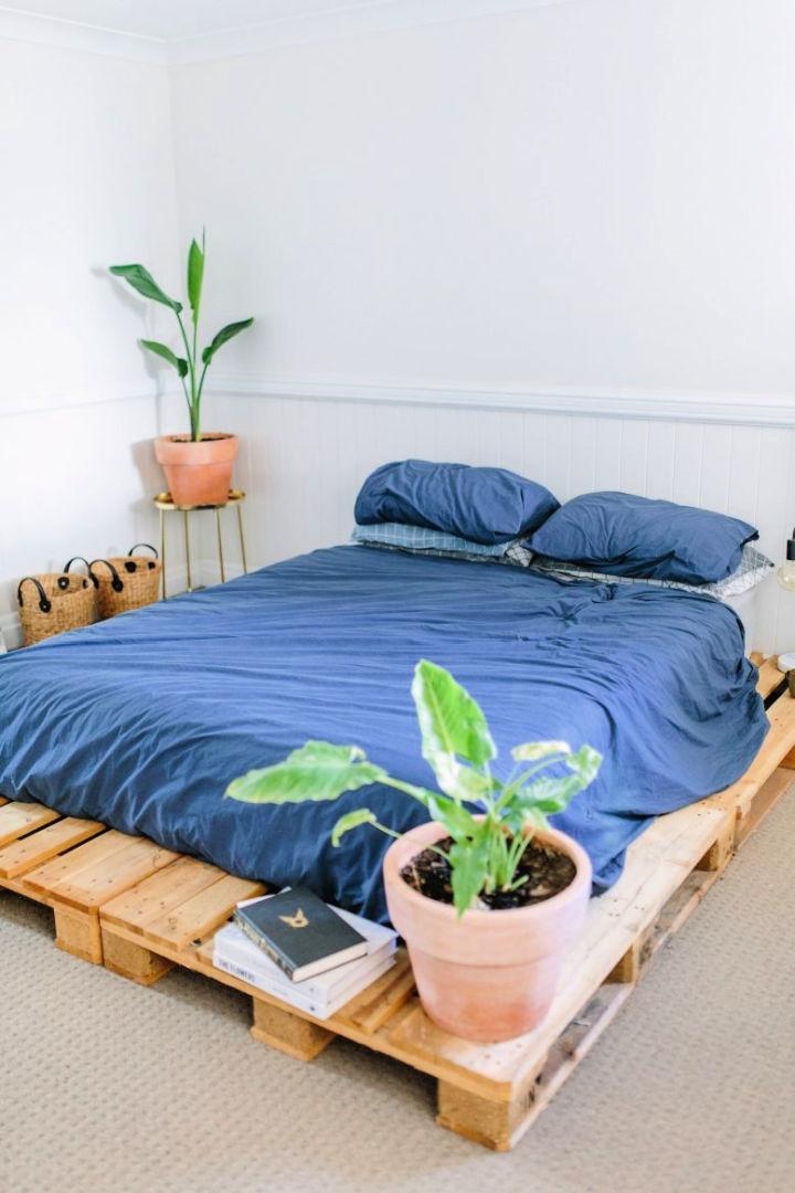 Pallet Bed Frame Update Your Bedroom