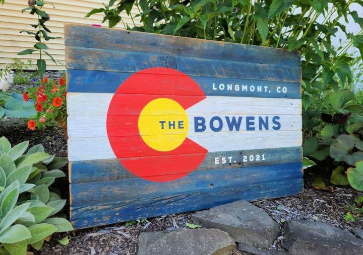 Pallet Colorado Flag