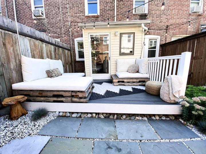Pallet Deck Couch