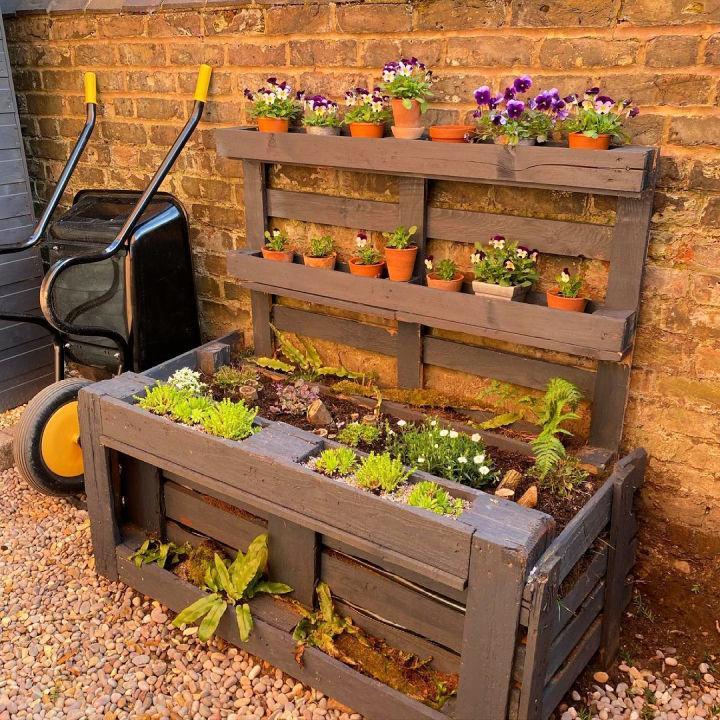 Pallet Garden Planter Plan