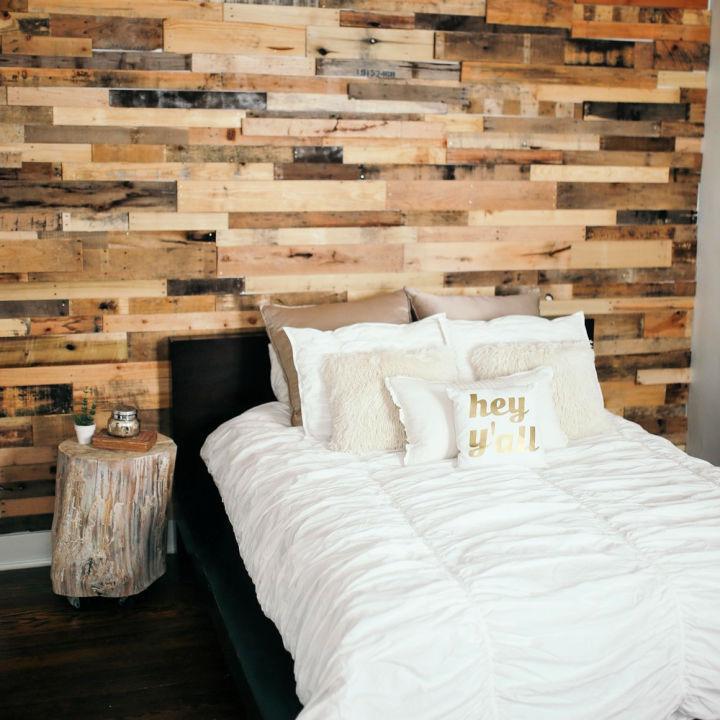 Pallet Wall Design