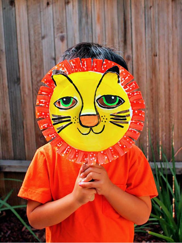 Paper Plate Animal Mask