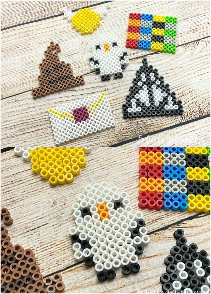 Perler Bead Harry Potter Designs