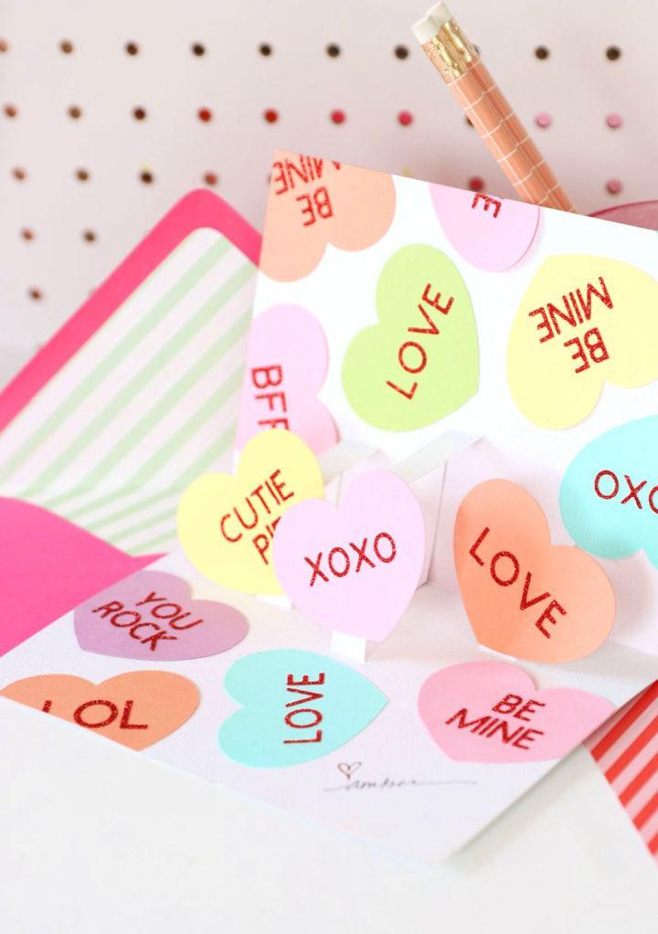 Pop Up Valentines Day Card