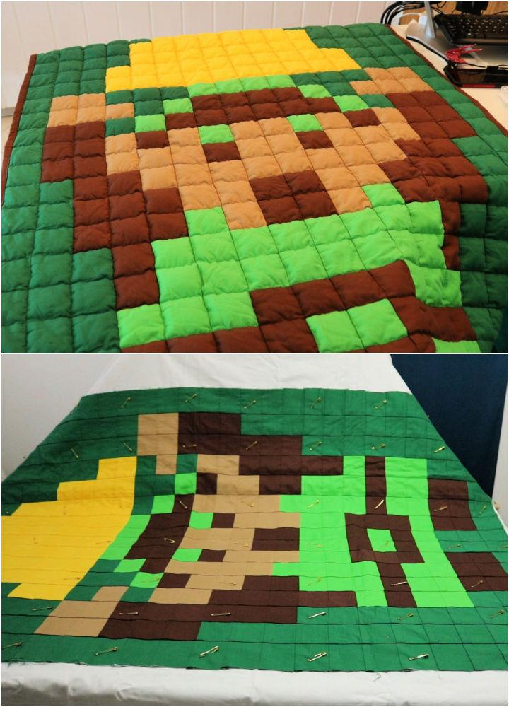 DIY Quilted Weighted Blanket