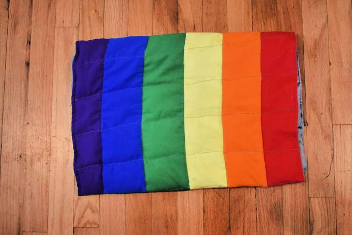 Rainbow Weighted Blanket for Kids