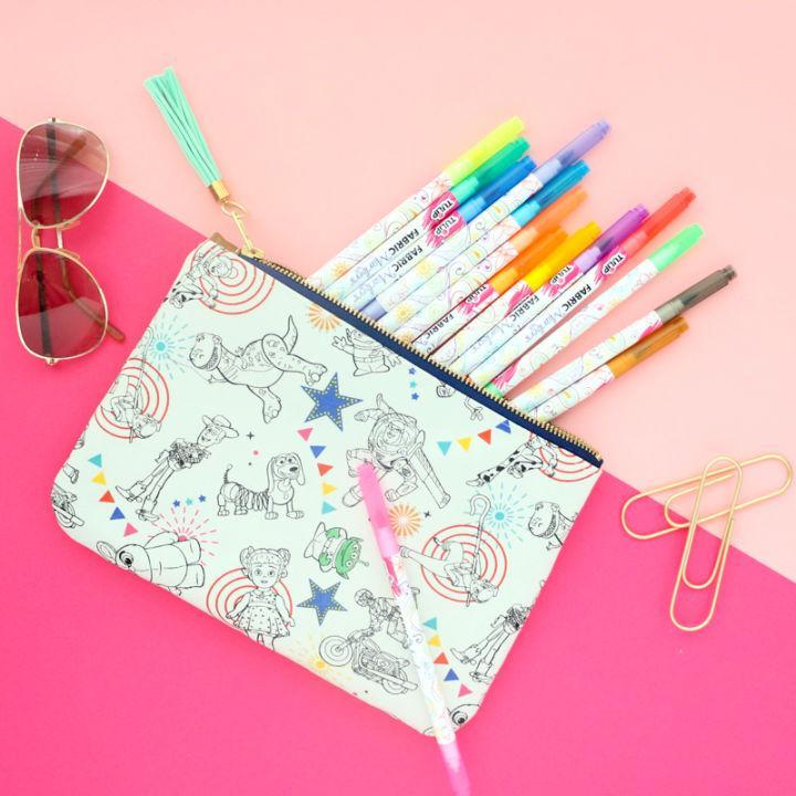 Sew a Zippered Pencil Case