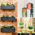Simple DIY Hanging Planter Ideas to Hang Plants Indoor or Outdoor
