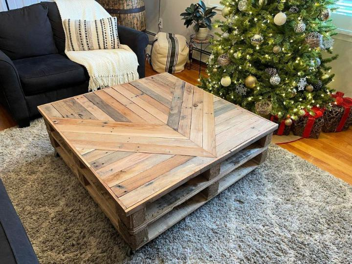 Simple Pallet Coffee Tables