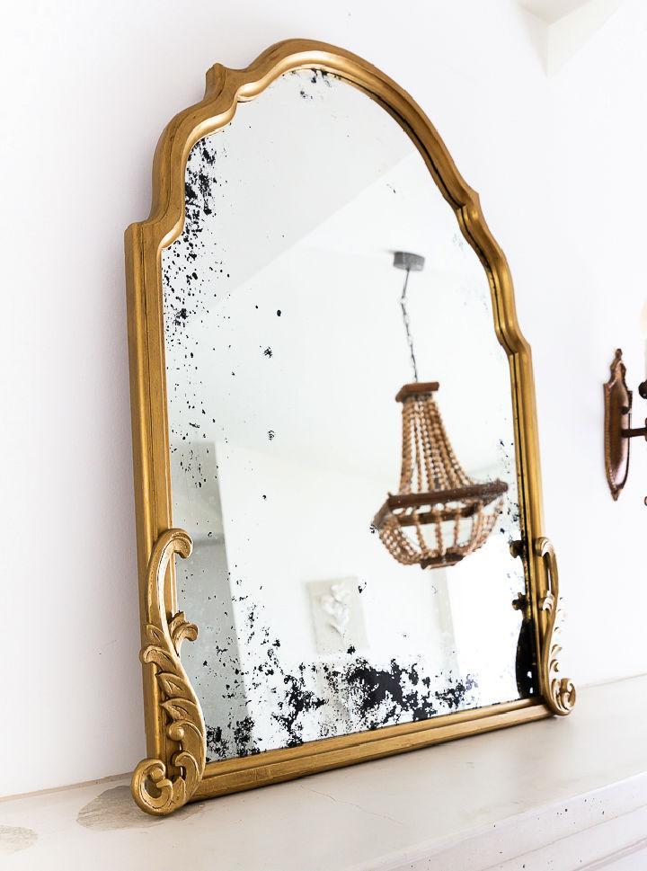 The Ultimate DIY Antique Mirror