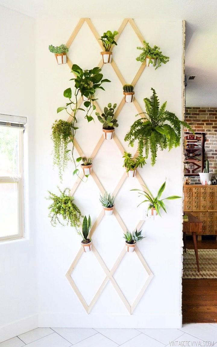 Trellis Wall Planter