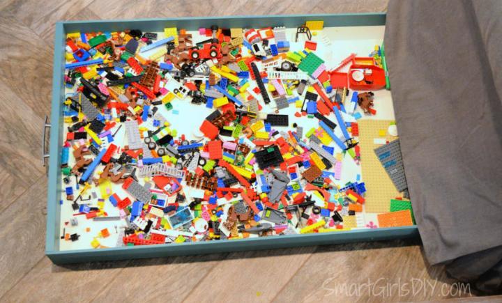 Under Couch Lego Storage Drawer