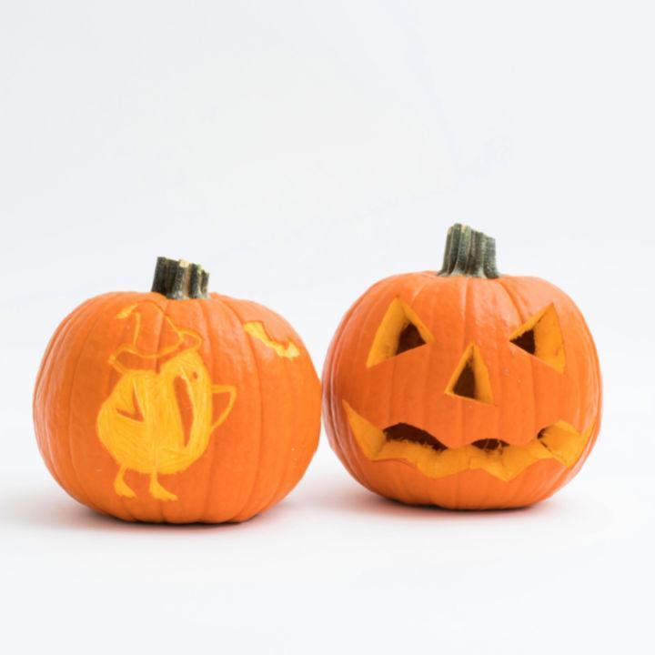 Unique Kiwico Pumpkin Carving