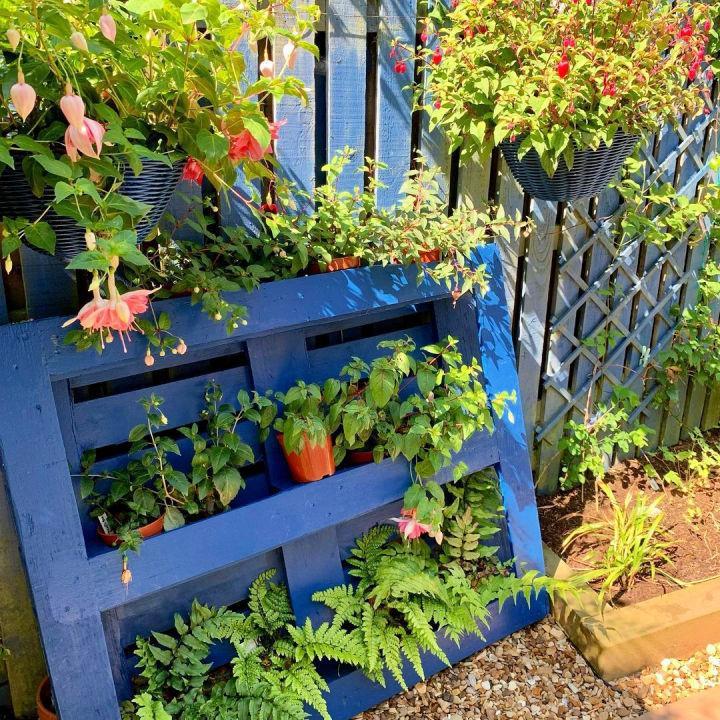 Vertical Garden Out Of Pallet
