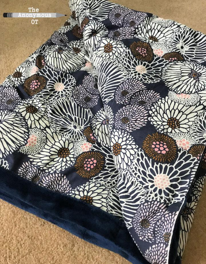 Weighted Blanket Sewing Pattern