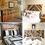 diy pallet headboard ideas with instructions and a material list