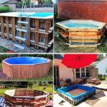 diy pallet pool ideas that you can build at 0